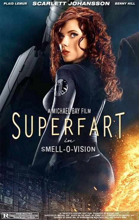 Scarlett Johansson's Unfortunate Promo Poster for Iron Man 2