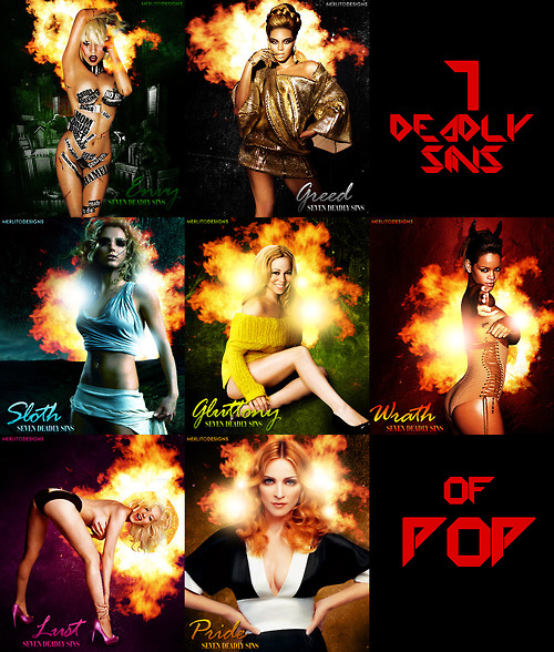 The Seven Deadly Sins of Pop