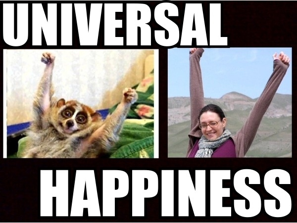 Happiness Is Universal