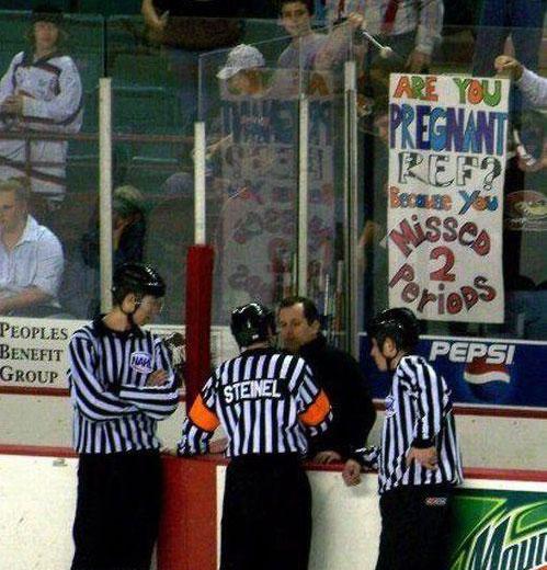 Great Hockey Sign