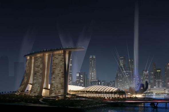 Mega Rooftop Resort in Singapore
