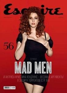 Christina Hendricks Sizzles in the Esquire Russia June 2010