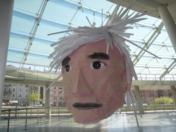 Massive Andy Warhol Piñata