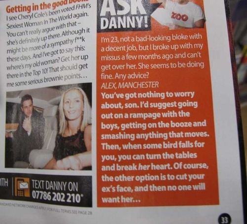 Ask Danny (On Second Thought, Don't)