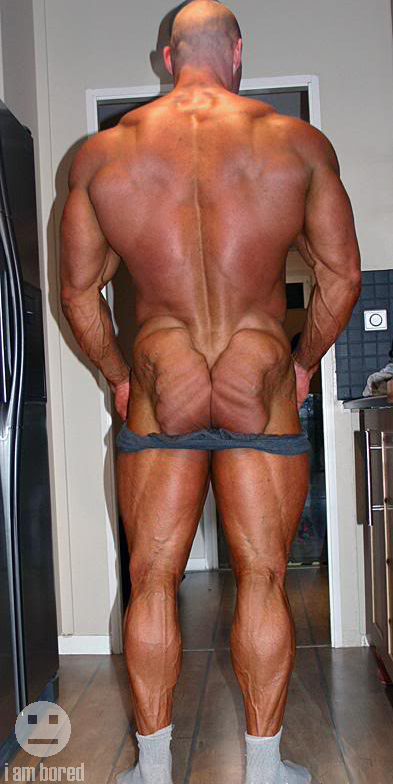 Check Out The Mutant Ass On That Dude [NSFW-ish]