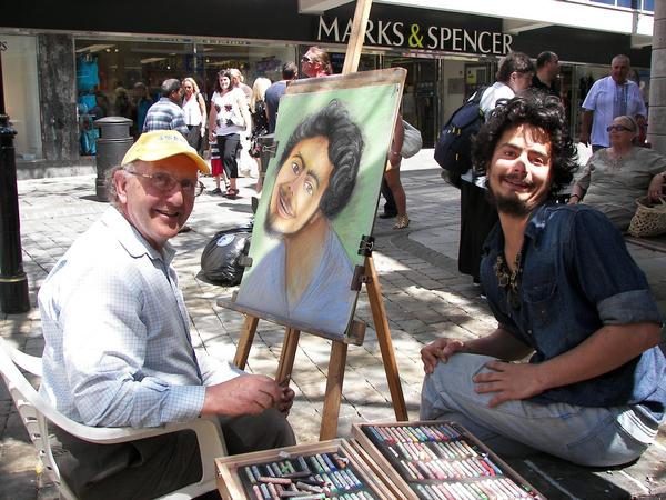 Great Street Portrait Or Greatest Street Portrait?