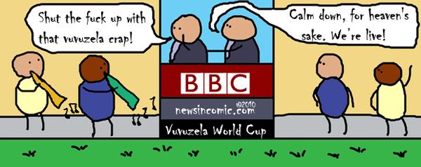 Vuvuzela World Cup + Anger Management