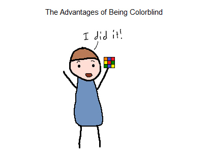 Advantages of Being Colorblind