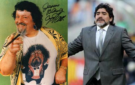 Maradona = Captain Lou Albano