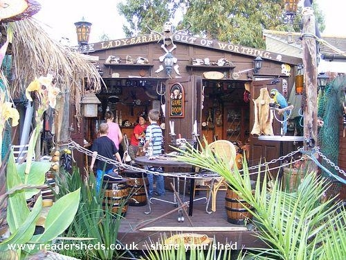 Pirate Shed