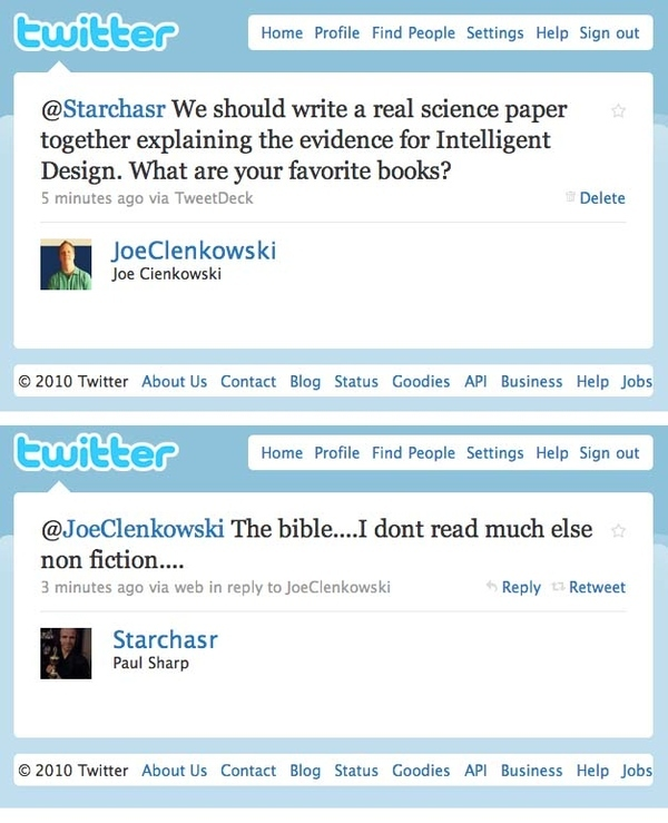 Creationists in a Nutshell