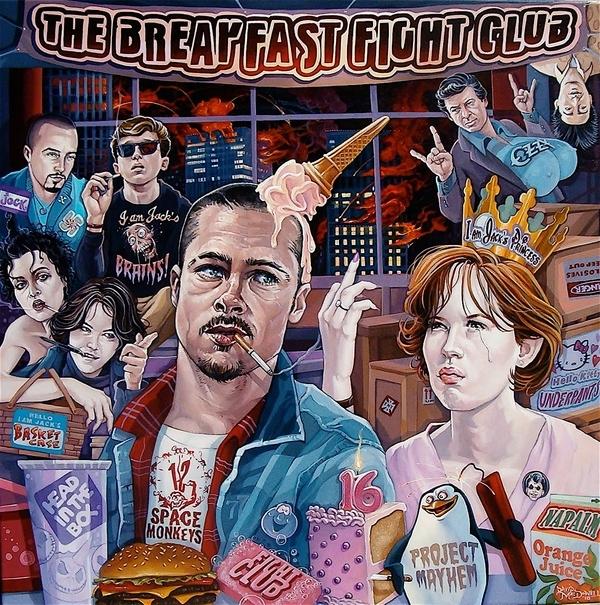 The Breakfast Fight Club