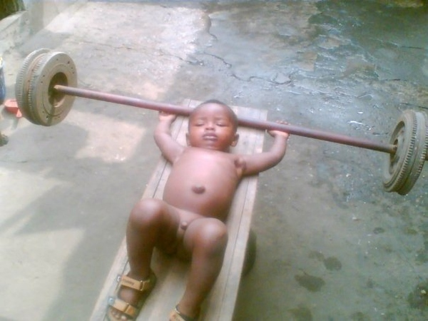 Baby Lifting Weight