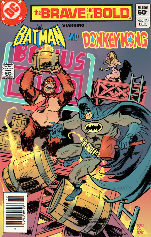 Batman Vs. Donkey Kong