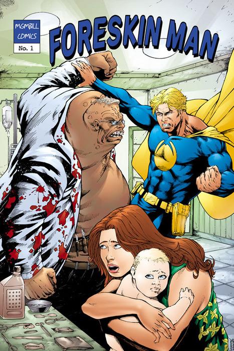 Foreskin Man Comic Book