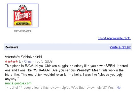 A Descriptive Review Of Wendy's