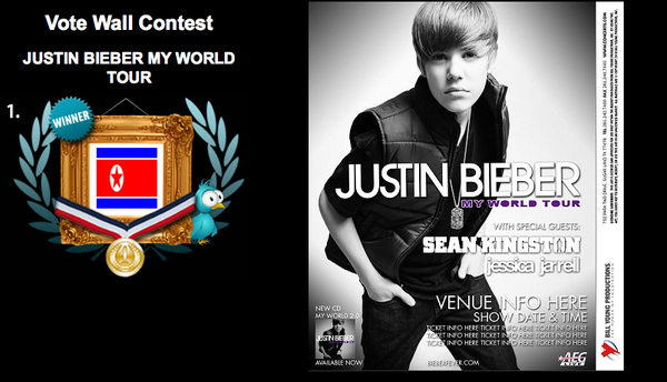North Korea Wants Justin Bieber!