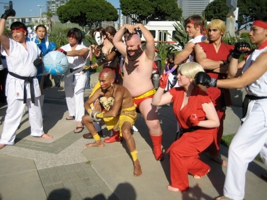 The Street Fighter Crew Gathers...