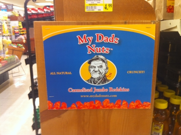 Winner of Worst Product Name EVER:  My Dadz Nutz