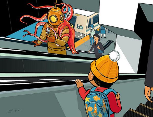 Subway Art by Josh Ellingson