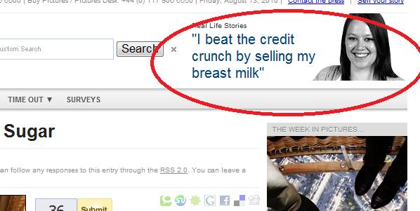 My Breast Will Beat the Credit Crunch Bite