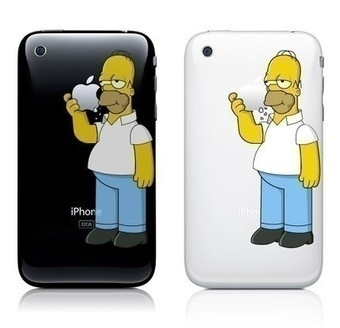 Home Simpson IPhone Stickers