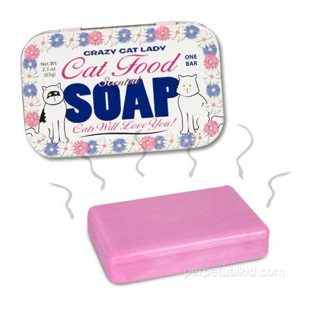 Cat Food Soap for Crazy Cat Ladies