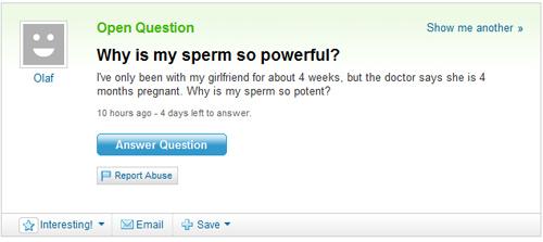 Powerful Sperm