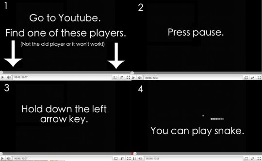 Youtube 'Snake' Game