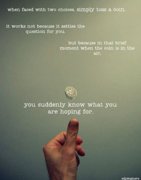 The Psychology of Coin Flipping