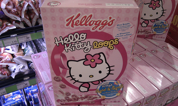Hello Kitty Breakfast Loops