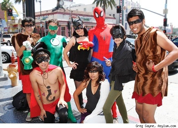 Only 8 People Show Up for Superhero Costume Record
