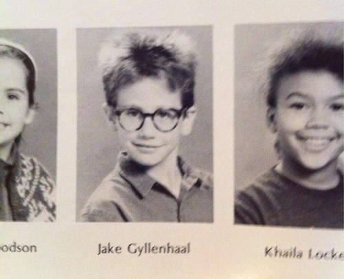 Jake Gyllenhaal's Yearbook Photo