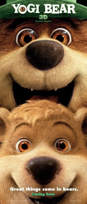 Yogi Bear 3D's Awkward Tagline