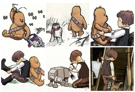 Chewbacca The Pooh