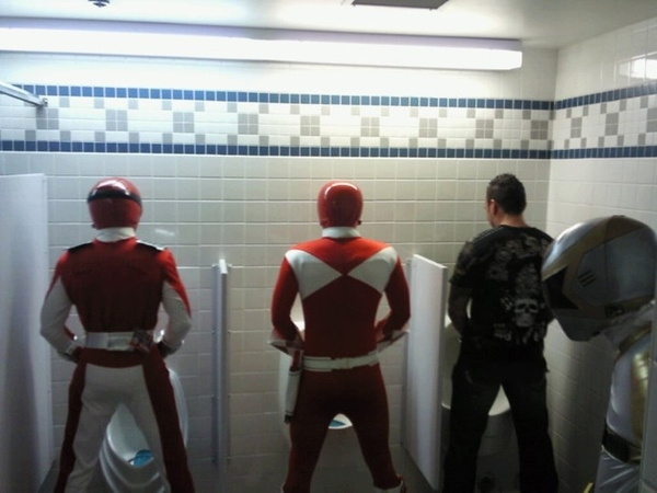 Power Rangers Are People Too