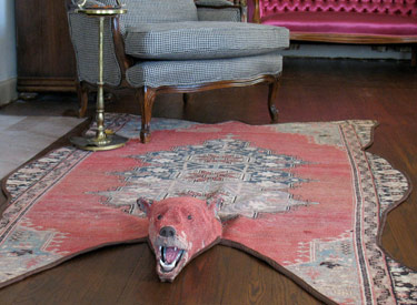 Bear Faced Rug