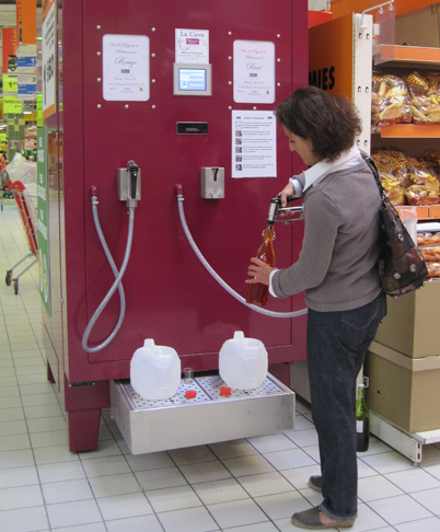 Self -Serve Wine Tanks!