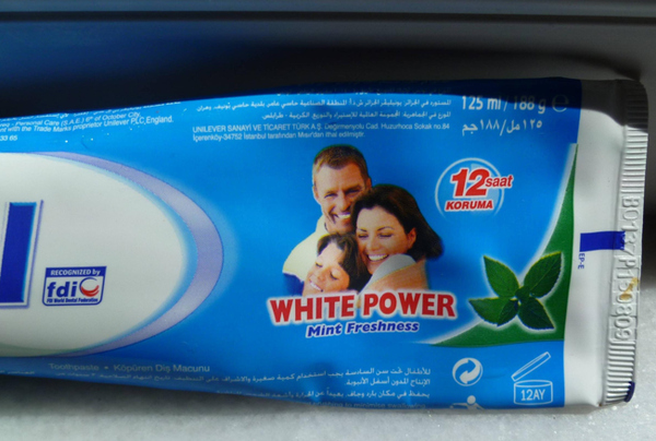 Racist Toothpaste