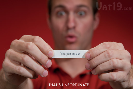 Unfortunate Fortune Cookies