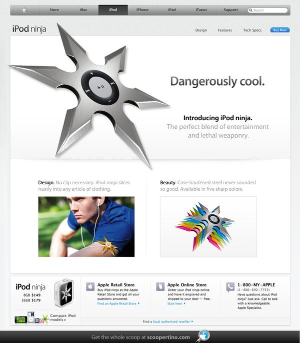 iPod Ninja Specs Revealed!