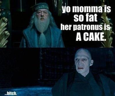Harry Potter Themed Yo Momma Joke