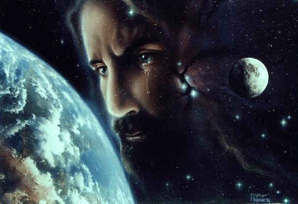 New Meme! What Is Space-Jesus Crying At?