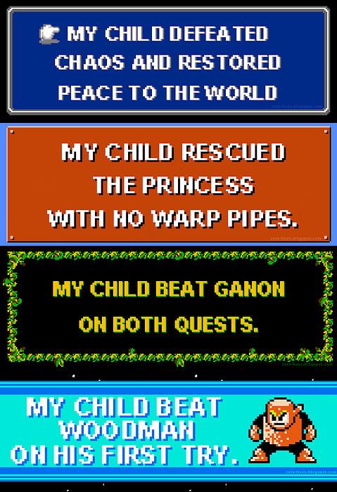 Bumper Stickers for Geek Parents