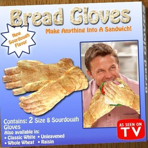 LMAO BREAD GLOVES?!