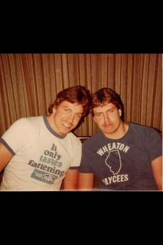 Rex & Rob Ryan College Days Circa 1983?
