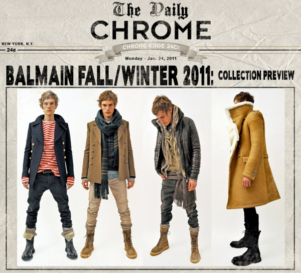 Balmain Fall/Winter 2011 - Collection Preview