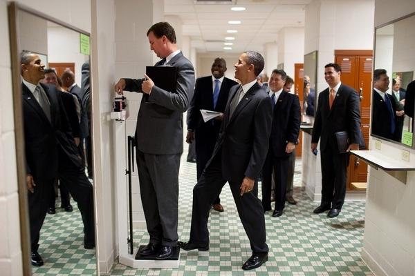 Obama Plays A Prank