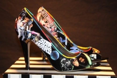 Star Wars Peep-Toe Pumps
