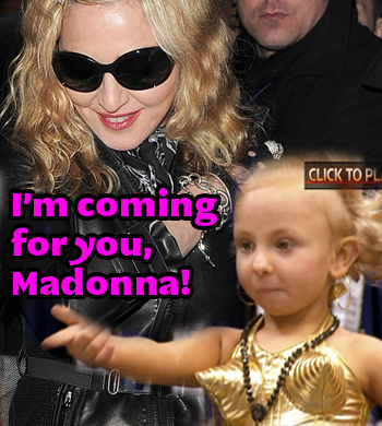 Toddlers Coming For Madonna's Career